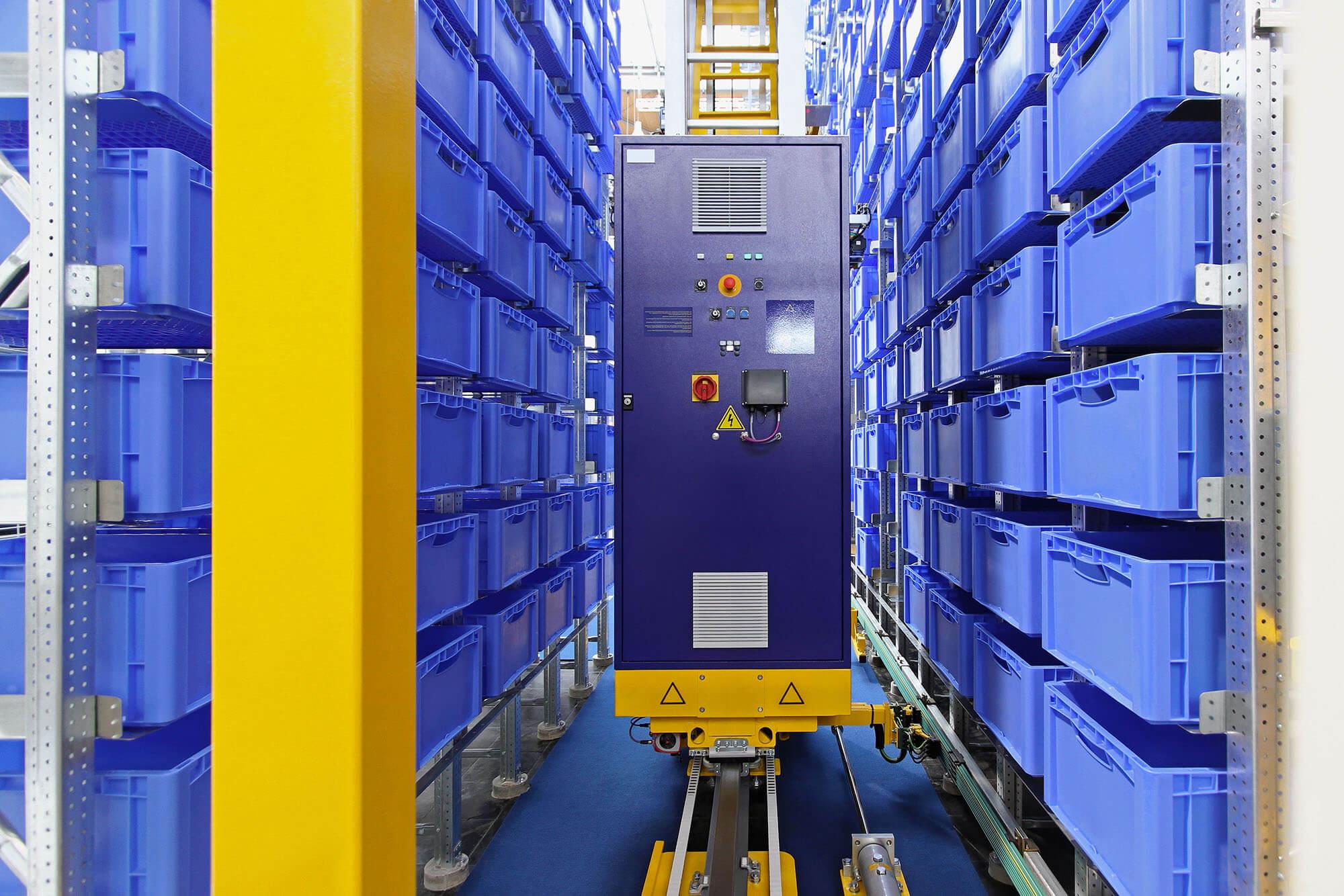Custom Automated Storage Warehouse