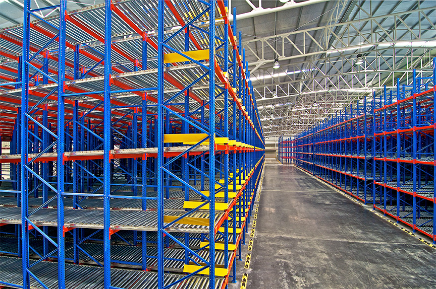 Custom Warehouse racking system