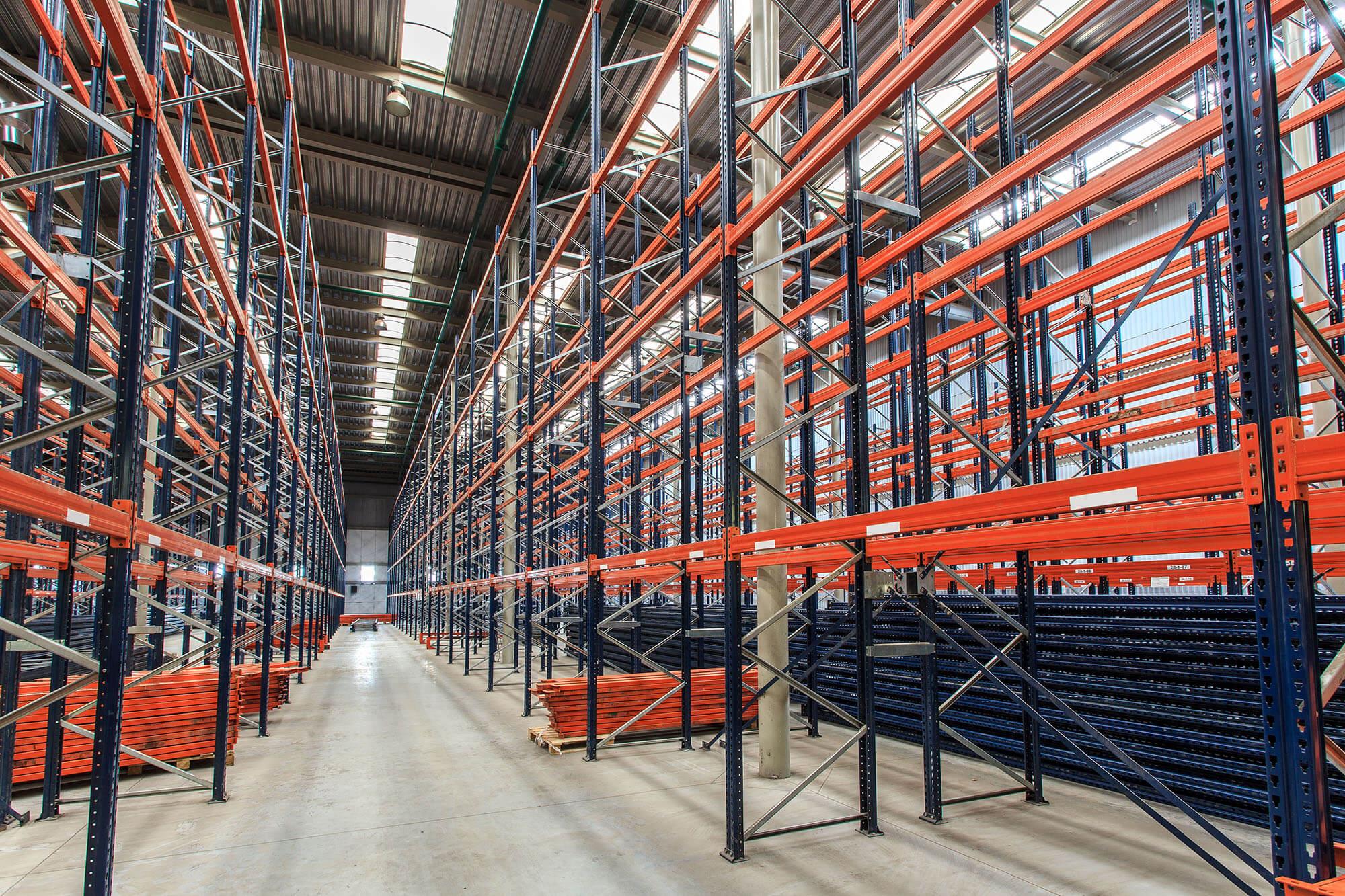custom warehouse racks